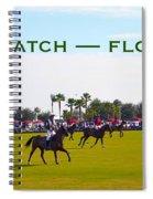 Polo Match Florida Spiral Notebook