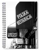 Polska Restauracja Spiral Notebook
