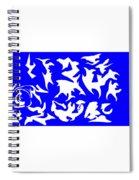 Polygon Sky Spiral Notebook