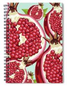Pomegranate   Spiral Notebook