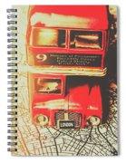 Pommy Promenade Spiral Notebook