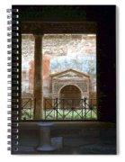 Pompei View 1 Spiral Notebook
