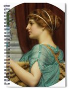 Pompeian Lady Spiral Notebook