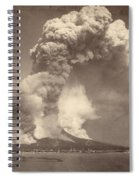 Pompeii: Mount Vesuvius Spiral Notebook