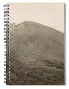 Pompeii: Mt. Vesuvius, C1890 Spiral Notebook