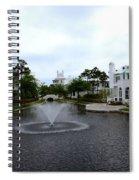 Pond At Alys Beach Spiral Notebook