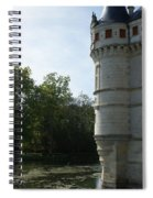 Pond At Azay Le Rideau Spiral Notebook