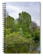 Pond At Buckingham Palace London Spiral Notebook