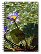 Pond Florals Spiral Notebook