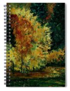 Pond In Fenffe Spiral Notebook
