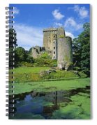 Pond In Front Of A Castle, Blarney Spiral Notebook
