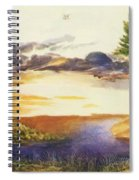 Pond In The Wood Spiral Notebook