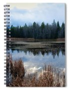 Pond On The Pend Orielle Spiral Notebook