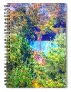 Pond Overlook Spiral Notebook