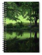 Pond Reflect Spiral Notebook
