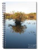 Pond Reflection Spiral Notebook