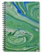 Pond Swirl 1 Spiral Notebook