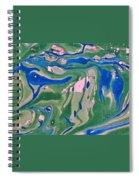 Pond Swirl 2 Spiral Notebook