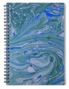 Pond Swirl 3 Spiral Notebook