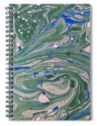 Pond Swirl 4 Spiral Notebook