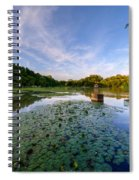Pond Spiral Notebook