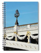 Pont Alexandre IIi - Paris, France Spiral Notebook