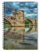 Pont D'avignon France_dsc6031_16 Spiral Notebook