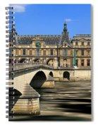 Pont Du Carrousel Spiral Notebook