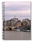 Pont Neuf In Paris Spiral Notebook