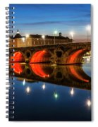 Pont Neuf In Toulouse Spiral Notebook