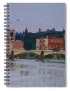 Ponte Vecchio Landscape Spiral Notebook