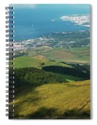 Ponta Delgada And Lagoa Spiral Notebook
