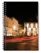 Ponta Delgada At Night Spiral Notebook