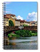 Ponte Santa Trinita Spiral Notebook