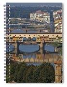 Ponte Vecchio - Florence Spiral Notebook