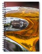 Pontiac Indian Head Hood Spiral Notebook