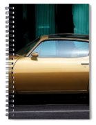 Pontiac Trans Am Spiral Notebook