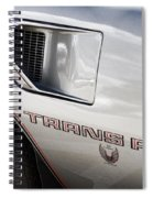 Pontiac Trans Am Limited Edition Spiral Notebook