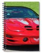 Pontiac Trans Am Spiral Notebook