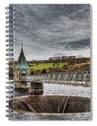 Pontsticill Reservoir Valve Tower Spiral Notebook