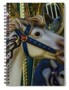 Pony Carrsouel Portrait Spiral Notebook