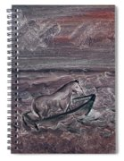 Pony In A Boat Spiral Notebook