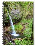 Ponytail Falls, Oregon Spiral Notebook