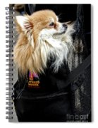 Pooch In The Pouch Spiral Notebook