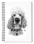 Poodle @standerdpoodle Spiral Notebook