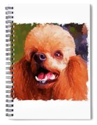 Poodle Trio Spiral Notebook