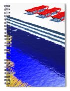 Pool Deck Spiral Notebook
