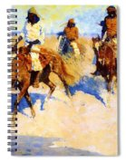 Pool In The Desert 1907 Spiral Notebook
