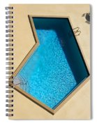Pool Modern Spiral Notebook