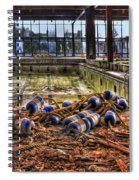 Pool Of Sorrow Spiral Notebook